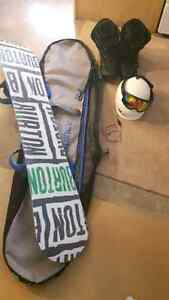 Burton Bullet Snowboard and Accessories