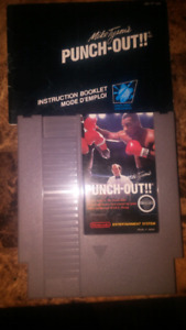 (NES) Mike Tyson Punch-Out! With Manual