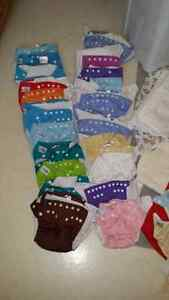 Large lot of fuzzibunz diapers and accessories  Sarnia Sarnia Area image 2