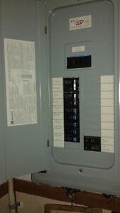 2 Panneau electrique et filage