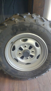 ATV tire and Rim like new
