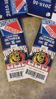 Kitchener Rangers Vs. Owen Sound Oct. 16