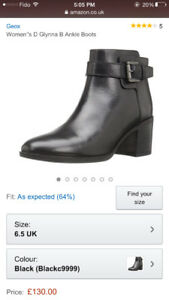 Geox ankle boots--almost new