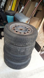 Mazda Protege  tires and misc
