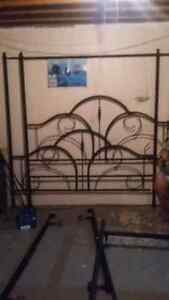Canopy bed frame ONLY Kawartha Lakes Peterborough Area image 1