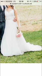 Ivory Maggie Sottero Wedding Gown
