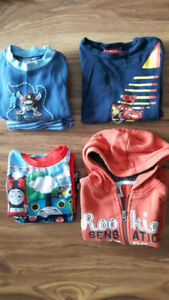 Lot of 5T boys' clothes (Pants, Tops and PJs)