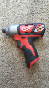 Milwaukee m12  impact driver. Unused 2462-20