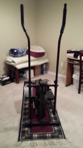 Exercise equipent for sale.  Elliptical for $75.00
