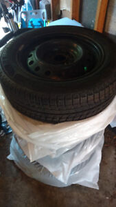 Michelin X-Ice Snow Tires and Rims (205/60R16 96H)