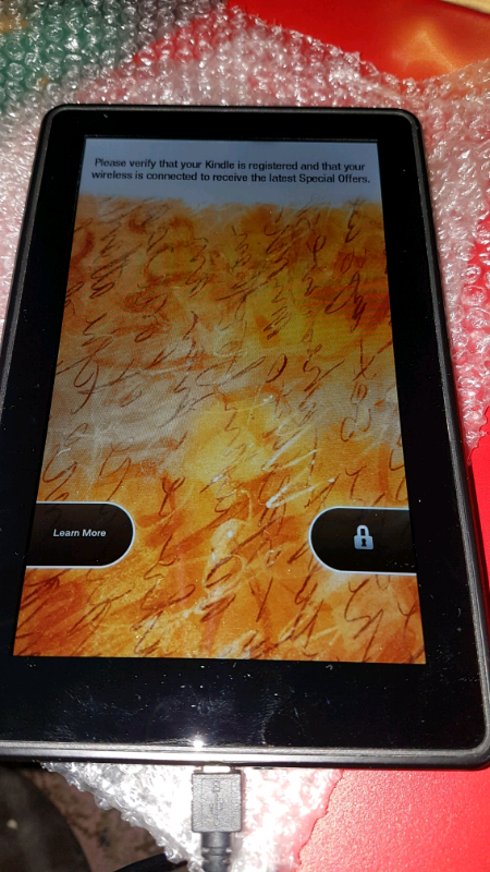 FAULTY SPARES OR REPAIR AMAZON KINDLE FIRE 7
