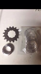 Single speed bicycle Conversion cog spacer Dirt Jumper FAT Bike