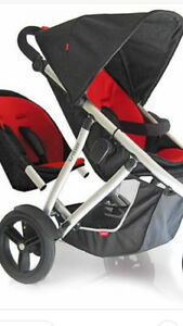 Phil&ted vibe double stroller