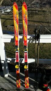 DYNASTAR TEAM X7 DOWNHILL SKIS POLYGLASS