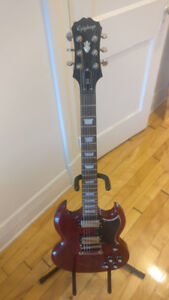 Price Drop!! Epiphone SG 400 & Accessories
