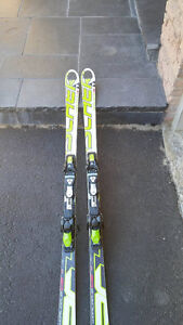 170 Ficher GS junior racing skis