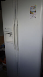 Kenmore fridge and freezer with ice maker will trade