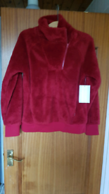 Mondetta Red Fleece Jumper