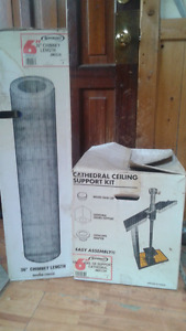 36 inch chimney /ceiling support kit
