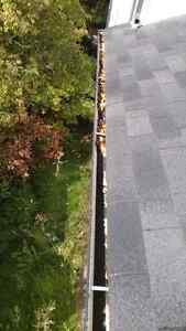 EAVESTROUGH CLEANING, REPAIRS & GUTTER GUARD INSTALLATION Edmonton Edmonton Area image 7