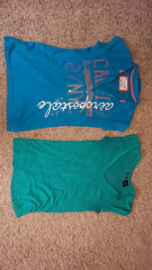 Women's t shirts ($15 and $3) mediums