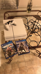 Mint Condition White Ps4 + Games