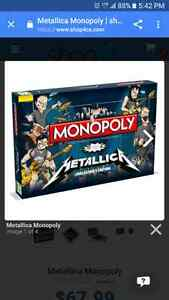 WANTED   Metallica Monopoly