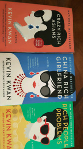 Crazy Rich Asians books