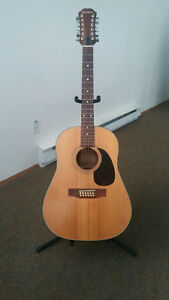 Epiphone 12 String Acoustic Guitar