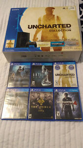 Ps4 with games. Excellent condition.