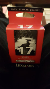 Lexmark Original Black 17 Inkjet Cartridge