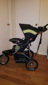 BABY TREND 3 WHEEL STROLLER