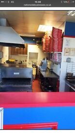 Takeaway pizza business for sale