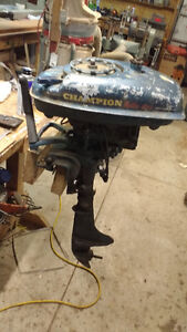 Wanted parts for 7.9 hp Champion outboard