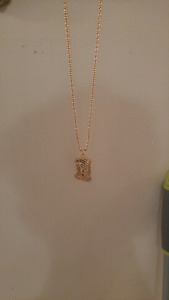 18K Gold Plated Chain with Jesus Pendant
