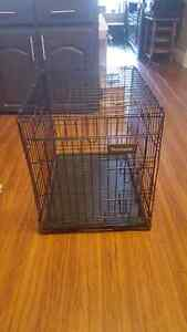 Small dog crate in good shape