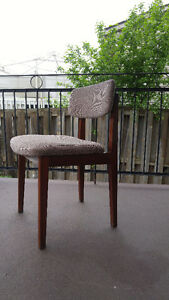 mid century teak dining chair / desk chair (only one)