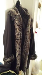 SEQUENCE LADIES HOODED FALL/EARLY WINTER COAT SIZE 12