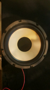 (2) 8 inch subwoofers  25 OBO