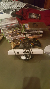 Xbox 360 games + kinect