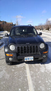 2002 Jeep Liberty Limited SUV, Crossover $799.00 OBO