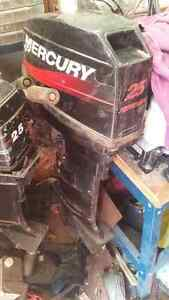 2 merc outboards for parts