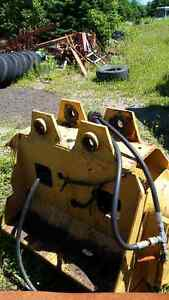seppi mid forest excavator mounted brush cutter