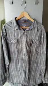 Columbia Brand Men's Long Sleeve Dress/Sport Shirt XXL