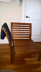 Sturdy Wooden Chair