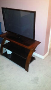 Selling 42 inch tv with stand ...Moving sale!!