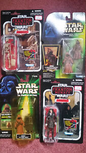 Giant STAR WARS FIGURES collection