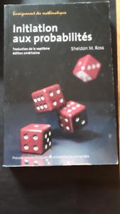 Initiation aux probabilités - 7e édition Sheldon Ross