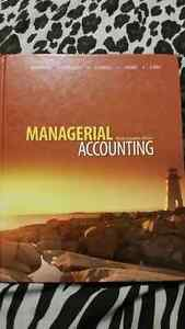 Managerial Accounting Book