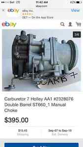 HOLLEY AA-1 carb..2 bbl